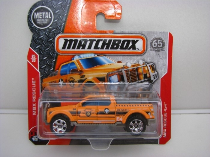 Matchbox 65Th Anniversary MBX Rescue 4x4 MBX Rescue 25/30