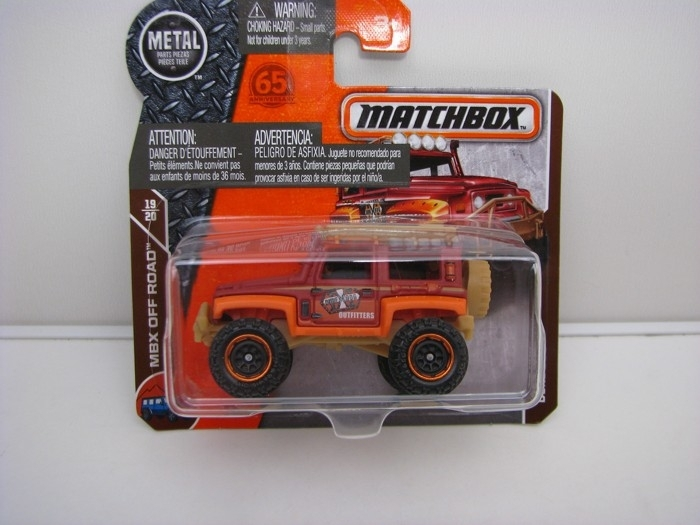 Matchbox 65Th Anniversary Dune Dog MBX Off Road 19/20