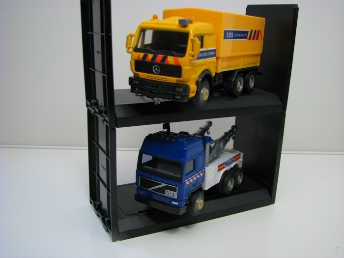 Mercedes Car Recovery a Volvo odtahovka Police double pack Cararama