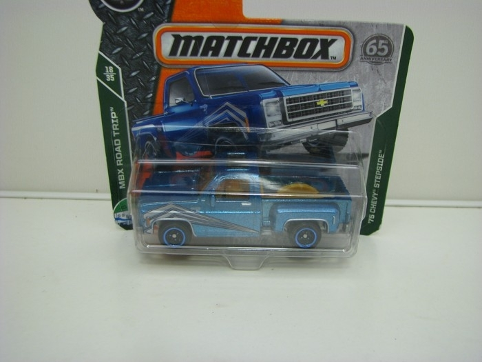 Matchbox 65Th Anniversary 75 Chevy Stepside MBX Road Trip 18/35
