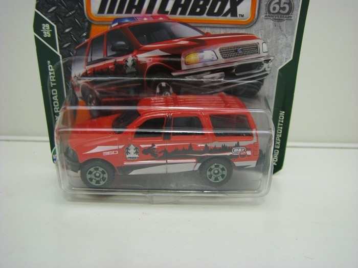 Matchbox 65Th Anniversary Ford Expedition MBX Road Trip 29/35