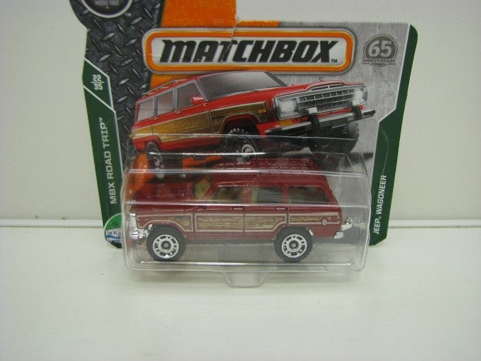 Matchbox 65Th Anniversary Jeep Wagoneer MBX Road Trip 22/35