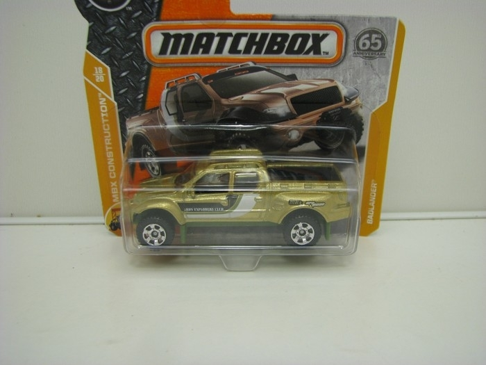 Matchbox 65Th Anniversary Badlander MBX Construction 18/20