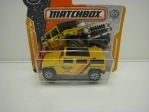 Matchbox 65Th Anniversary Hummer H2 SUV Concept MBX Construction 8/20
