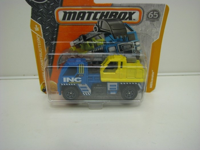 Matchbox 65Th Anniversary MBXcavator MBX Construction 3/20
