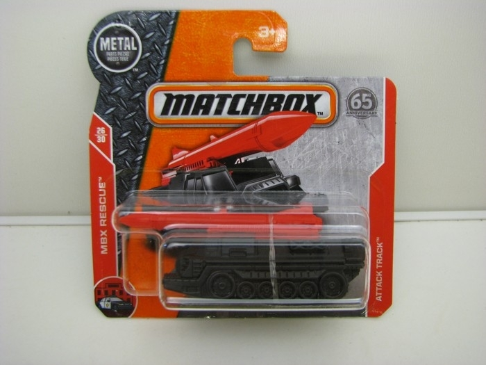 Matchbox 65Th Anniversary Attack Track MBX Rescue 26/30
