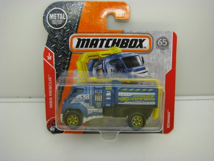 Matchbox 65Th Anniversary XCANNER MBX Rescue 1/30