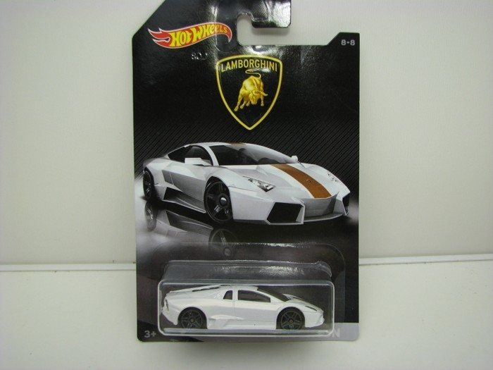 Lamborghini Reventón White Hot wheels DWF21