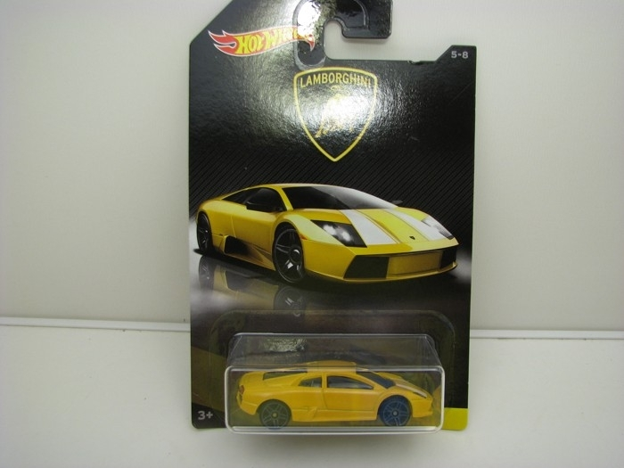 Lamborghini Murciélago Yellow Hot wheels DWF21