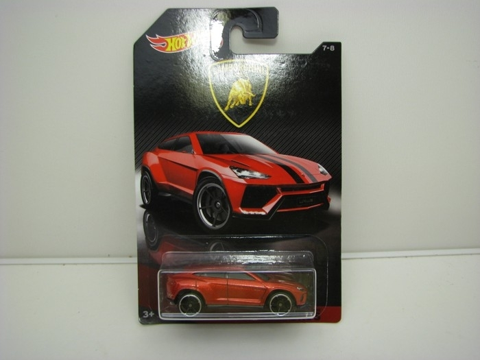 Lamborghini Urus Red Hot wheels DWF21