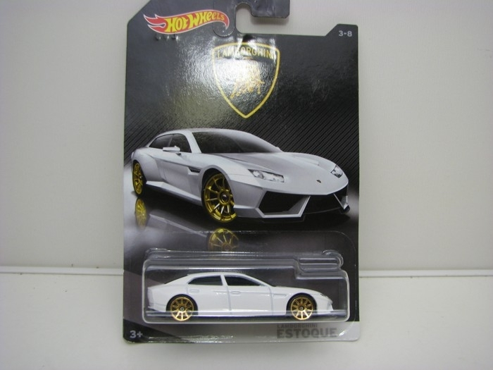 Lamborghini Estoque White Hot wheels DWF21