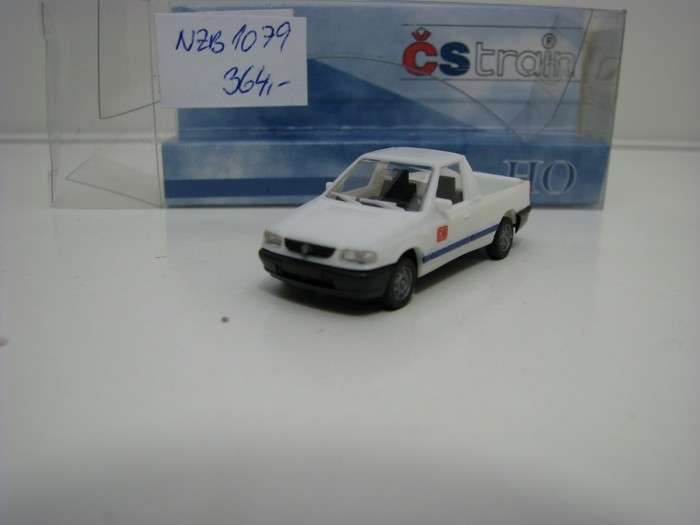 Škoda Felicia Caddy DB White 1:87 ČStrain