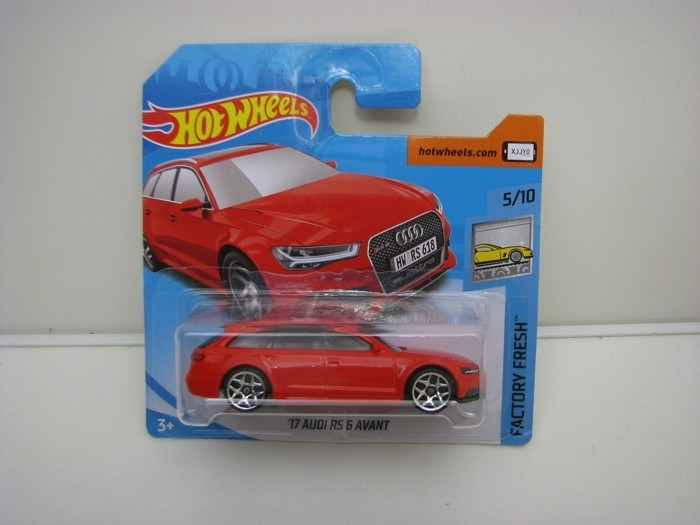 Audi RS 6 Avant 2017 HW Factory Fresh 5/10 Hot Wheels