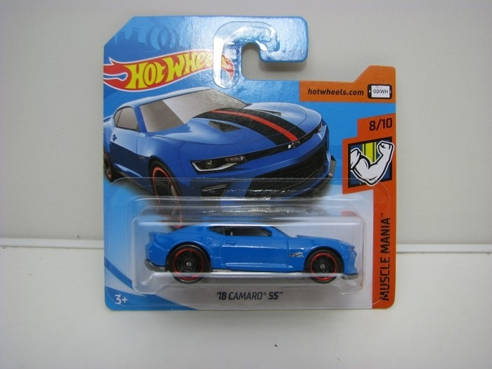 Camaro SS 2018 HW Muscle Mania Hot Wheels