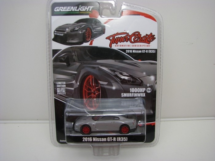 Nissan GT-R R35 2016 1:64 Tuner Create Greenlight 51147