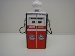 Gas Pump Red Crown Gasoline 1:18 Greeenlight