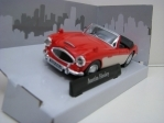 Austin Healey Cabrio open red 1:43 Cararama