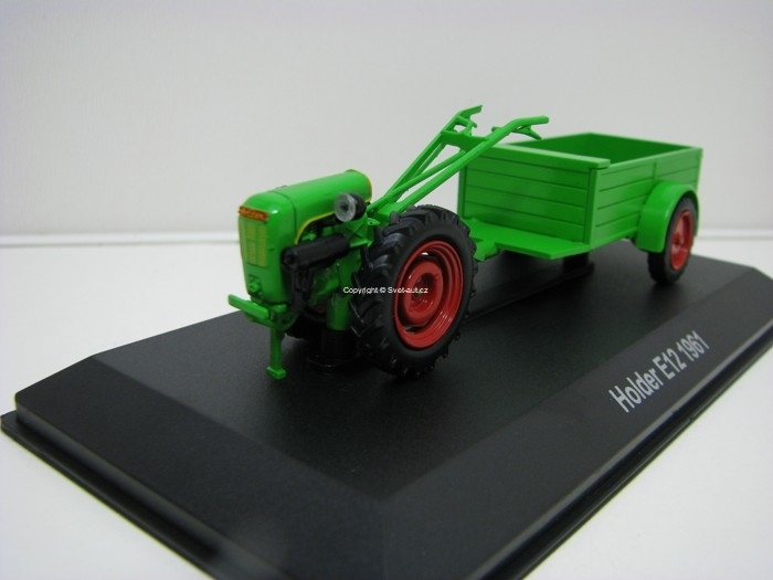 Traktor Holder E12 1961 1:43 Hachette