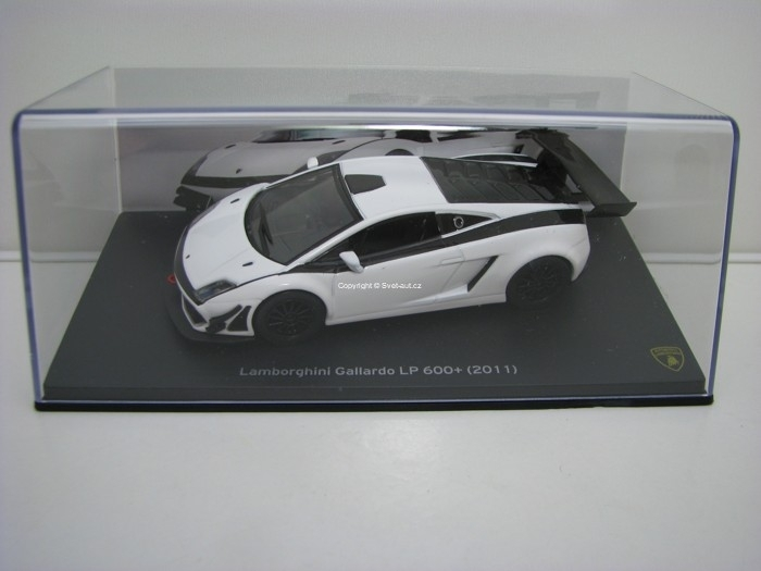Lamborghini Gallardo LP 600+ 2011 White 1:43 Atlas