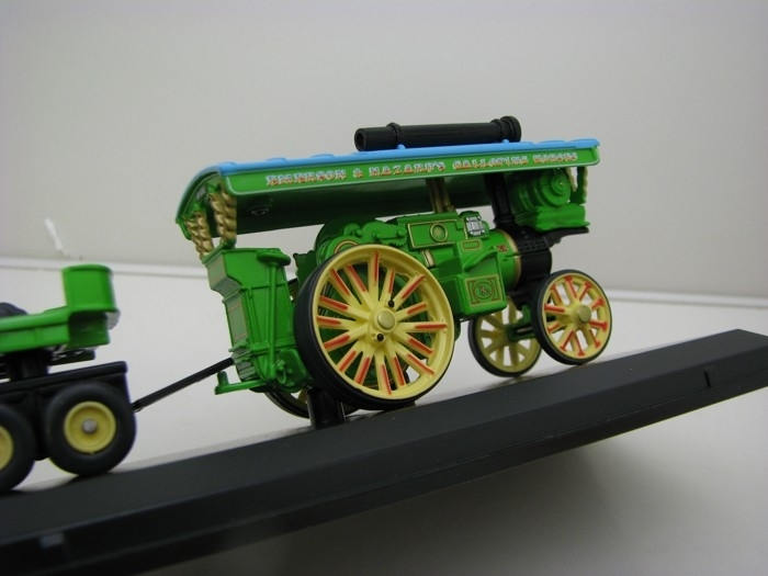 Burell Showman Locomotive a Load 1:76 The Greatest Show On Earth