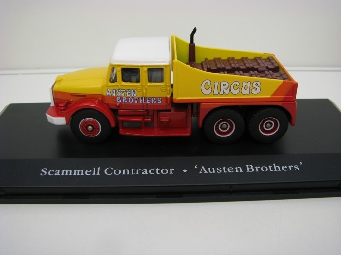Scammell Contractor Cirkus Austen Brothers 1:76 The Greatest Sho