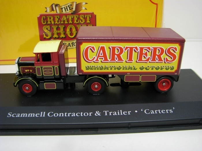 Scammell Contractor a Trailer Carters 1:76 The Greatest Show On
