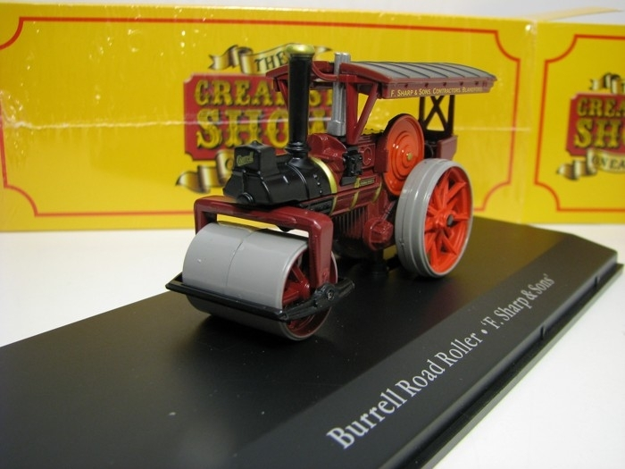 Burell Road Roller F. Sharp a Sons 1:76 The Greatest Show On Earth