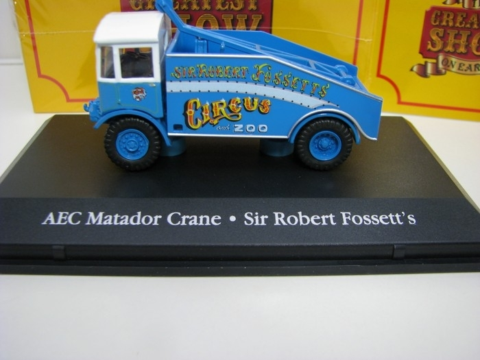 AEC Matador Crane Cirkus  ZOO Sir Robert Fossett 1:76 The Greate