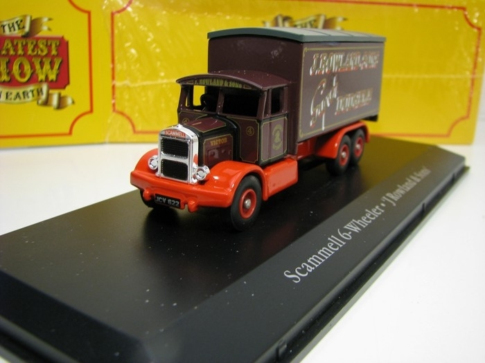 Scammell 6-Wheeler J Rowland a Sons 1:76 The Greatest Show On Earth