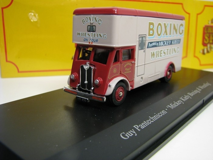 Guy Pantechnicon Mickey Kiely Boxing 1:76 The Greatest Show On Earth