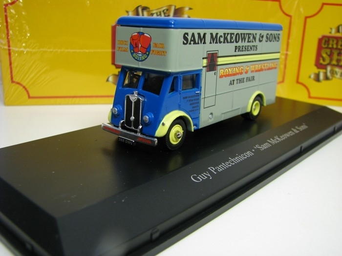 Guy Pantechnicon Sam McKeowen a Sons Boxing 1:76 The Greatest Show On Earth