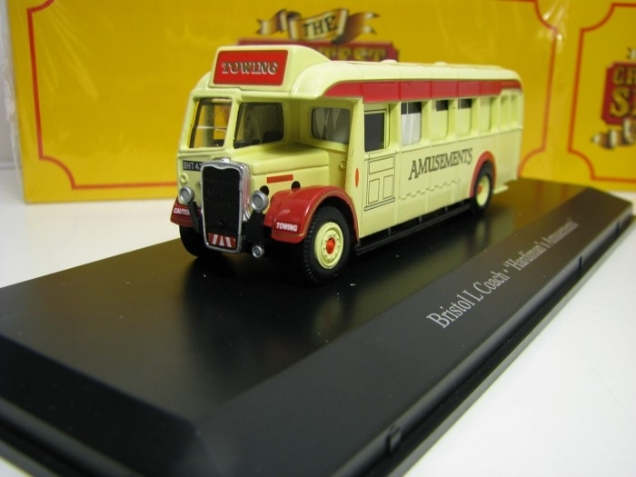 Bristol L Coach Hardimans Amusements 1:76 The Greatest Show On Earth