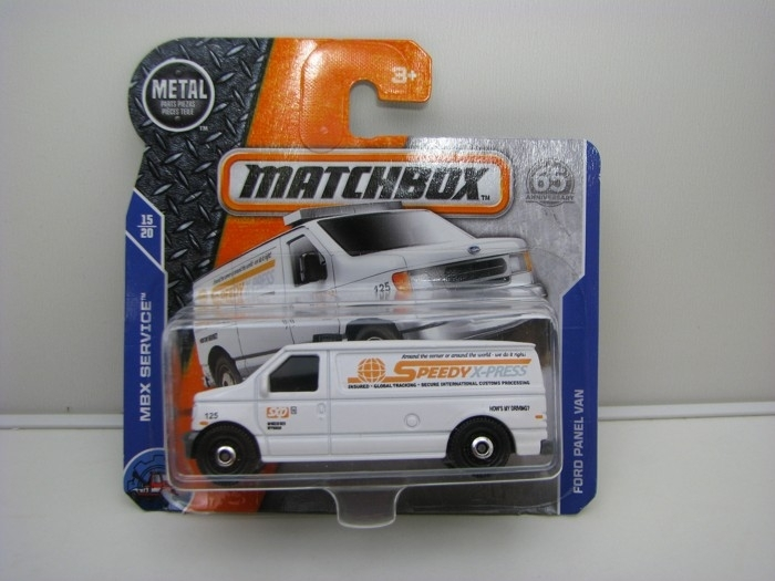 Matchbox 65Th Anniversary Ford Panel Speedy Van MBX Service 15/20