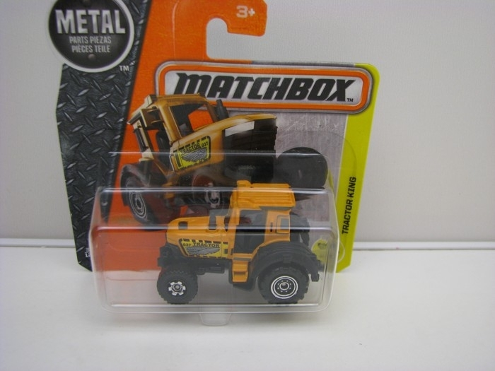 Traktor King Yellow Matchbox 2016 blistr