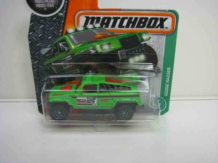 Ridge Raider Matchbox 2016 blistr