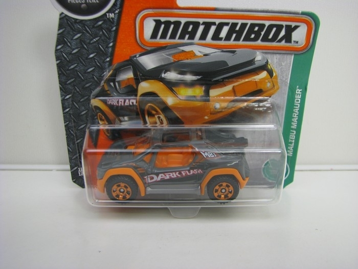 Malibu Marauder Dark Flash Matchbox 2016 blistr