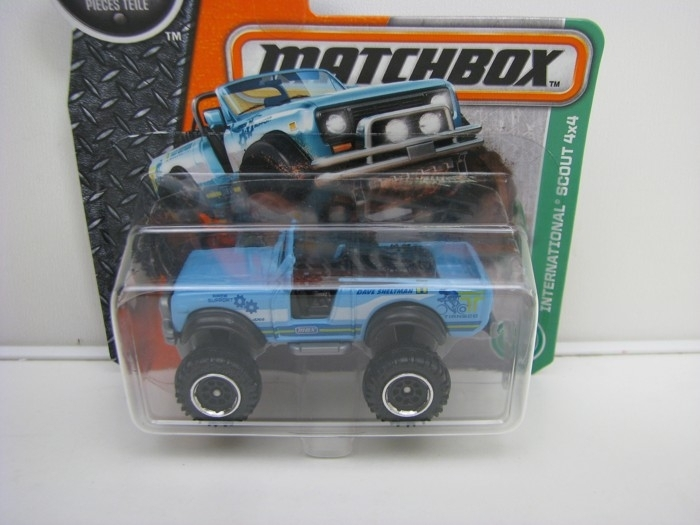 International Scout 4x4 Matchbox 2016 blistr