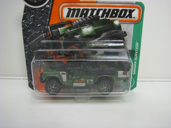 Sahara Survivor Matchbox 2016 blistr