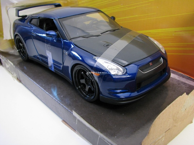 Brian's Nissan GT-R (R35) Fast and Furious 7 1:24 Jada Toys