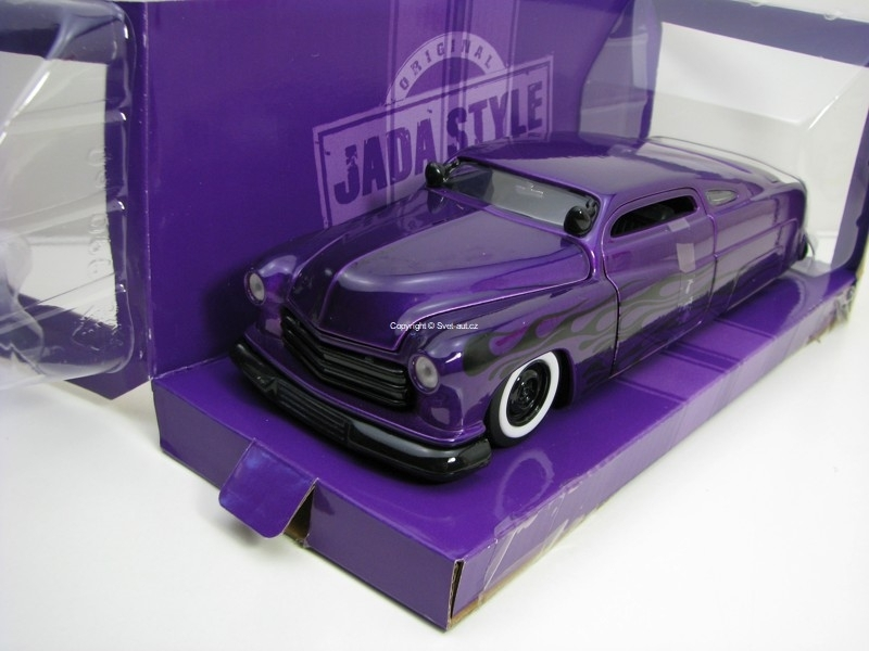 Mercury 1951 Purple 1:24 Bigtime Customs Jada Toys