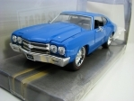Chevrolet Chevelle SS 1970 Blue 1:24 Big Time Muscle Jada Toys