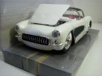 Chevrolet Corvette 1957 Sombrero White 1:24 Big Time Muscle Jada Toys