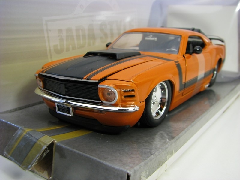 Ford Mustang Boss 429 Centerline 1970 Orange 1:24 Big Time Muscle Jada Toys