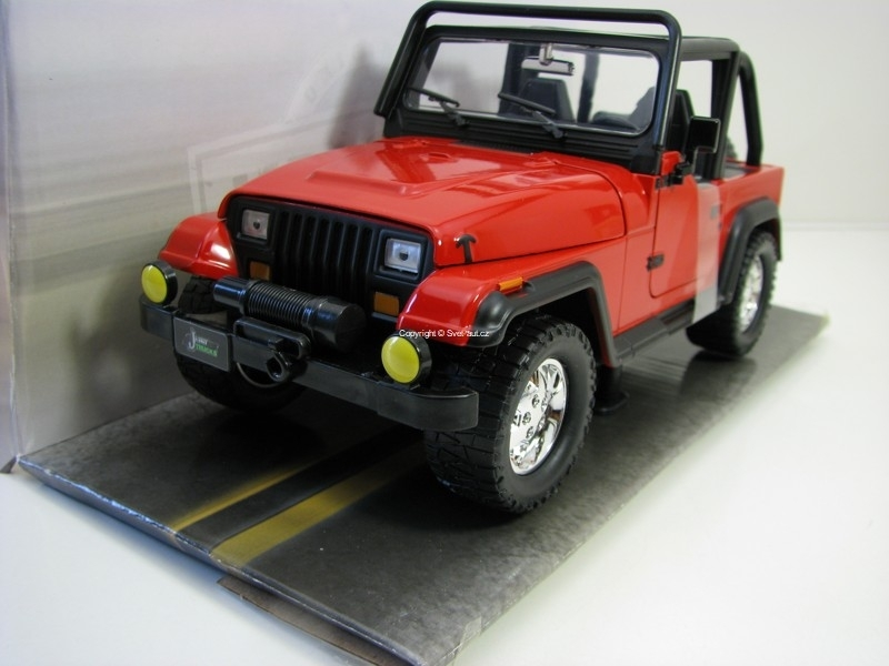 Jeep Wrangler 1992 Red 1:24 Just Trucks Jada Toys