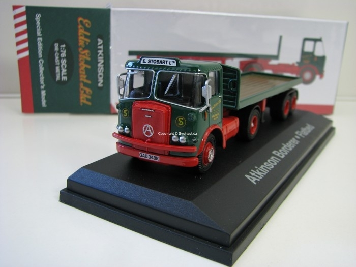 Atkinson Borderer Flatbed Trailer 1:76 Atlas Stobart