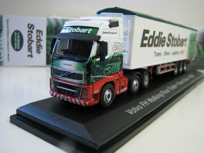 Volvo FH 960 Walking Floor Trailer Grace Olivia H8505 1:76 Atlas Stobart
