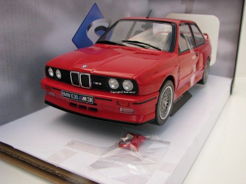 BMW E30 M3 1986 Red 1:18 Solido
