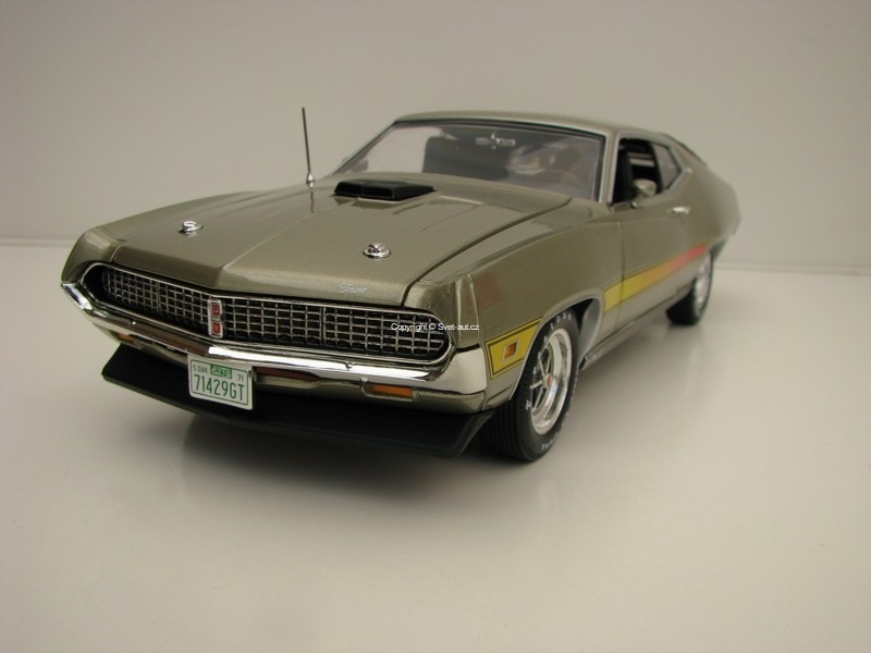 Ford Torino GT 1971 Beige Metallic 1:18 Ertl Auto World
