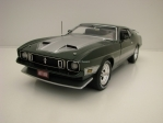 Ford Mustang Mach 1 1973 Green Metallic 1:18 Ertl Auto World