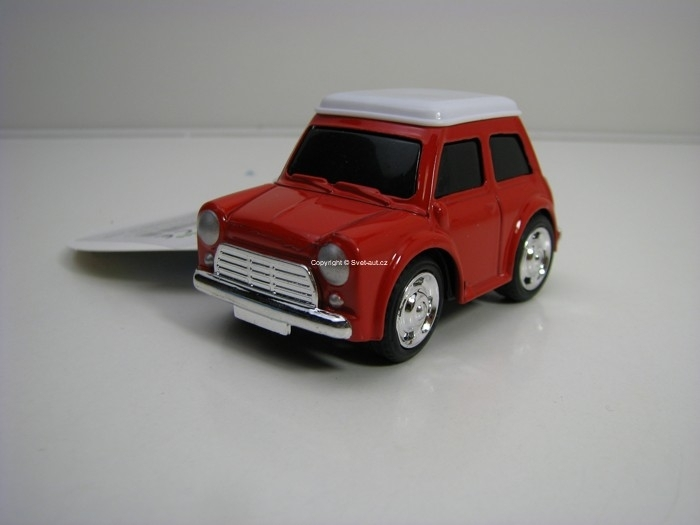 Autíčko 7 cm Pull Back Mini Cooper teddies